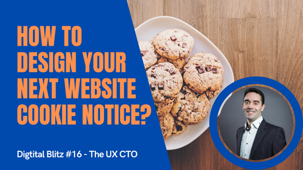 How to design your next website cookie notice?
